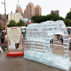 Food & Wine: Why a Giant Ice Elephant Stood (and Melted) in NYC