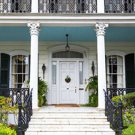 Food & Wine: Why so Many Southern Porches Have Blue Ceilings