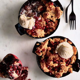 Food & Wine: Apple-Pomegranate Cobbler