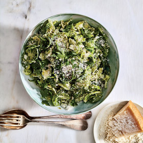 Food & Wine: Caesar Brussels Salad