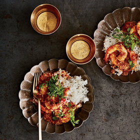 Food & Wine: Shrimp Curry with Coconut, Mustard Seeds and Chiles