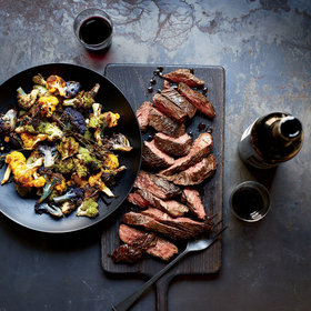 Food & Wine: Steak and Brassicas with Red Wine Sauce