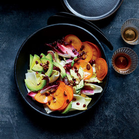 Food & Wine: Persimmon-and-Endive Salad with Honey Vinegar and Avocado Oil Vinaigrette