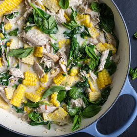 mkgalleryamp; Wine: Spicy Coconut Chicken Stew with Corn