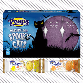 Food & Wine: Peeps Adds Pumpkin Spice, Candy Corn and Spooky Cats for Halloween