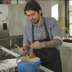 Food & Wine: 6 Tips for the Crispiest, Juiciest Fried Chicken from Ludo Lefebvre  [Video]