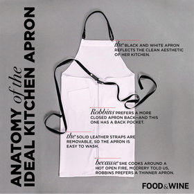 Food & Wine: Anatomy of the Ideal Kitchen Apron