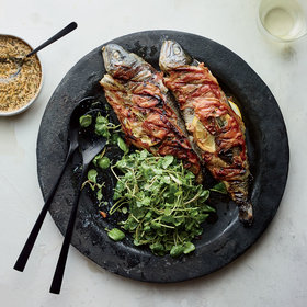 Food & Wine: Pancetta-Wrapped Trout with Sage and Lemon