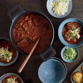 mkgalleryamp; Wine: Pork-and-Brisket Chili