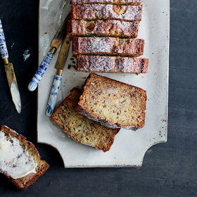Food & Wine: Smashed-Banana Bread