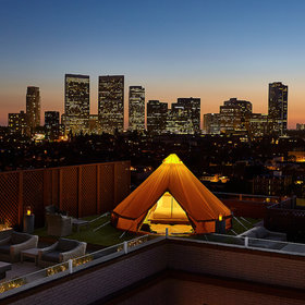 Food & Wine: The Beverly Wilshire Launches Glamping Option