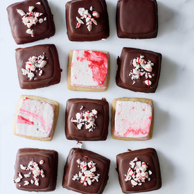 mkgalleryamp; Wine: Chocolate Peppermint Marshmallow Cookies