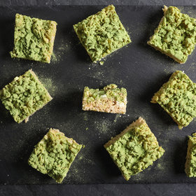 Food & Wine: Matcha Tea Marshmallow Crispy Treats