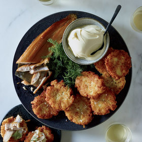 mkgalleryamp; Wine: Potato Pancakes
