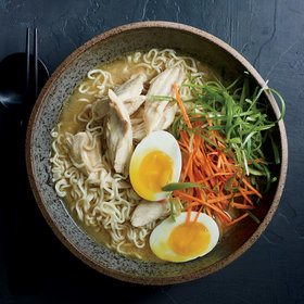 mkgalleryamp; Wine: Miso Chicken Ramen