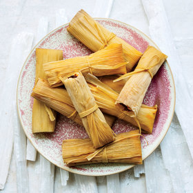 Food & Wine: Pork Tamales