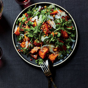 mkgalleryamp; Wine: Arugula-and-Squash Salad