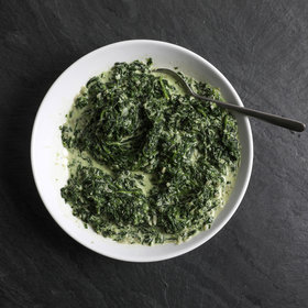 Food & Wine: Easy Creamed Spinach