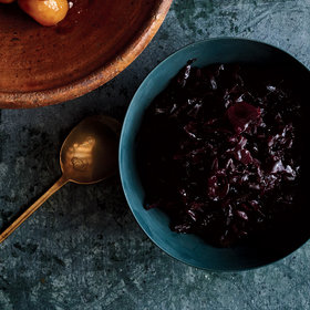 Food & Wine: Glazed Pickled Red Cabbage