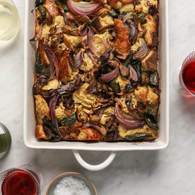 Food & Wine: Mushroom, Sourdough and Poblano Stuffing