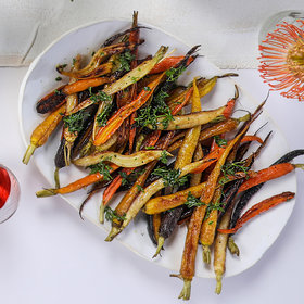 Food & Wine: Simple Roast Carrots with Lemon