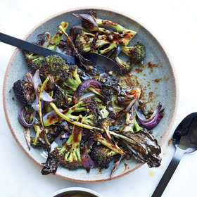 Food & Wine: Roasted Broccoli with Brown Butter Fish Sauce