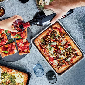 Food & Wine: Roman Pizza