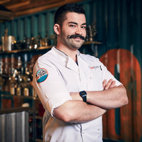 Food & Wine: 'Top Chef's' Joe Sasto on Focused Cooking and Mustache Maintenance