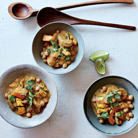 mkgalleryamp; Wine: Coconut Chickpeas with Winter Squash