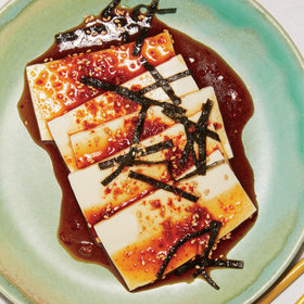 mkgalleryamp; Wine: Chilled Tofu with Soy Dressing