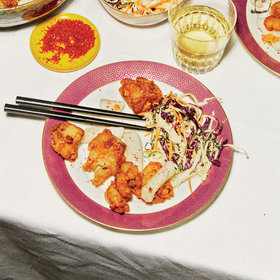 Food & Wine: Popcorn Chicken with Crispy 