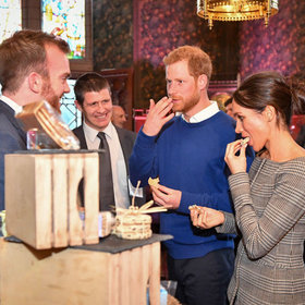 mkgalleryamp; Wine: Prince Harry and Meghan Markle Tasted a Wedding Cake Today