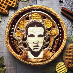 "Food & Wine: We Can't Stop Looking at These Celebrity ""Pietraits"" of Oprah, Eleven and David Bowie"