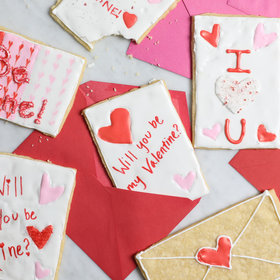 Food & Wine: How to Make Valentine's Day Cookie Cards