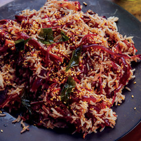Food & Wine: Caramelized Red Onion Rice with Tamarind