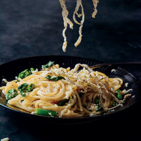 Food & Wine: Spaghetti with Cacio e Pepe Butter