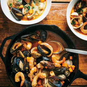 mkgalleryamp; Wine: Shellfish Stew