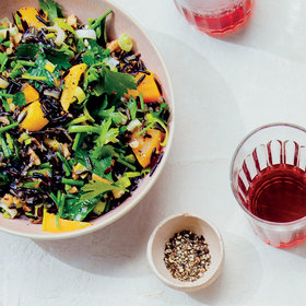 Food & Wine: Wild Rice and Golden Beet Salad