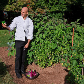 Food & Wine: These Days, Sam Kass Mostly Cooks for His Infant Son