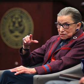 Food & Wine: Ruth Bader Ginsburg Weighs in on Whether a Hot Dog Is a Sandwich
