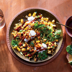 Food & Wine: Corn Chaat with 