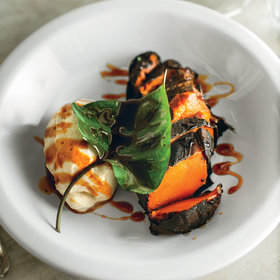Food & Wine: Charred Sweet Potatoes with Elecampane Cream and Honey Gastrique