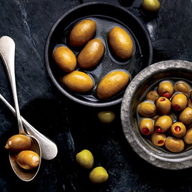 Food & Wine: Upgrade Your Martini Olive