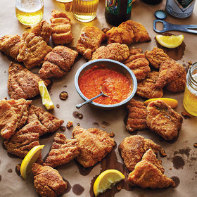 Food & Wine: Mom's Fried Catfish with Hot Sauce
