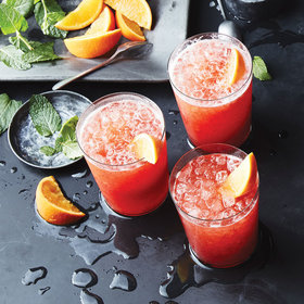Food & Wine: Strawberry-Rum Coolers