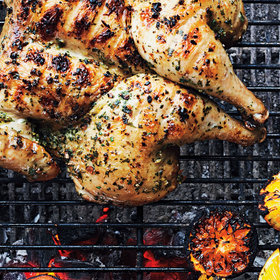 mkgalleryamp; Wine: A Better Way to Cook Chicken on the Grill