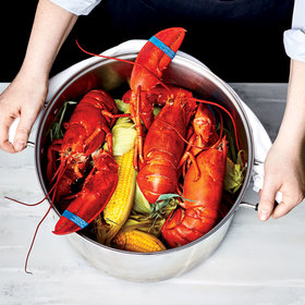 Food & Wine: Steamed Lobster and Corn for a Crowd