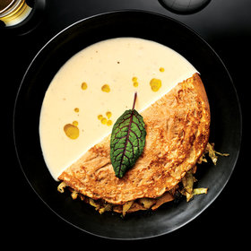 Food & Wine: Barley Crêpes with Cabbage and Sauce Pierre