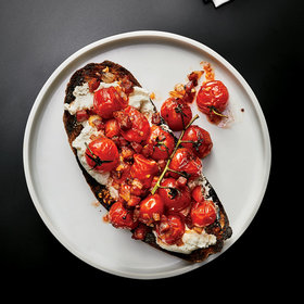Food & Wine: Burst Cherry Tomatoes and Pancetta