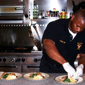 mkgalleryamp; Wine: Meet Andre Rush, the White House Chef with the Viral Biceps